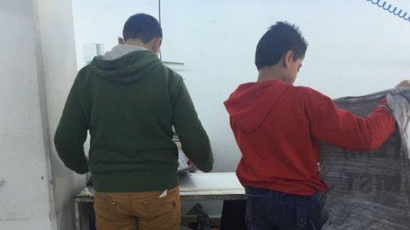 Suriyeli çocuk işçi: Ders zordu ama iş daha zor