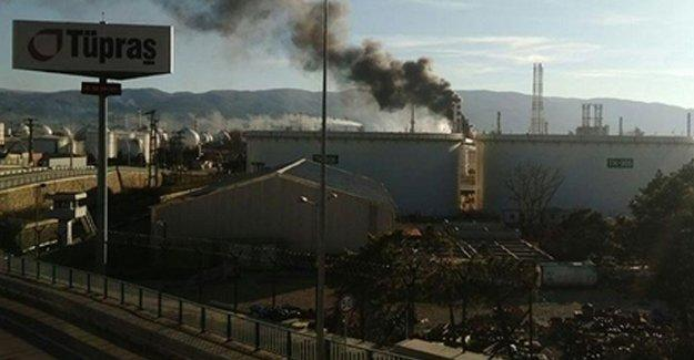 Tüpraş Rafinerisinde yangın