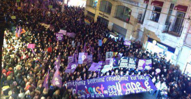 14. Feminist Gece Yürüyüşü: Yaşasın 8 Mart!