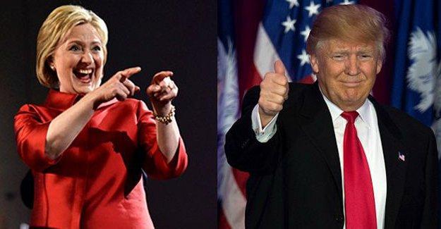 ABD'de Süper Salı: Clinton ve Trump öne çıktı
