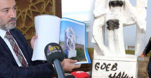AKP'li belediye başkanı: Ahlaki duyarlılığımız nedeniyle kadın heykellerini taşıyacağız