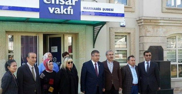 AKP'li vekilden Ensar Vakfı'na destek!