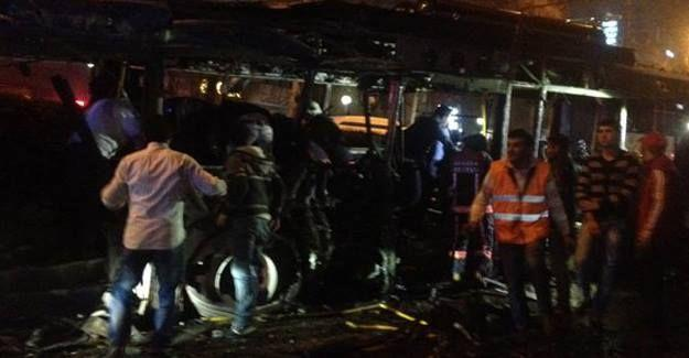 Ankara'da patlama oldu: 37 ölü, 125 yaralı