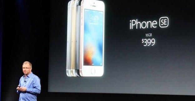 Apple'ın yeni telefonu iPhone SE tanıtıldı