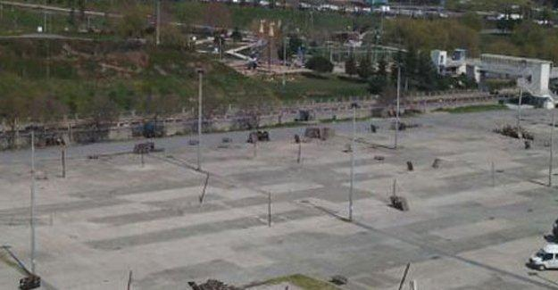 Bakırköy'de trafiğe kapalı yollar