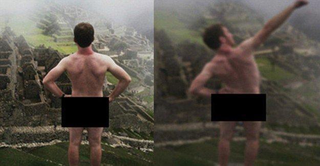 Çıplak fotoğraf çeken turistler tutuklandı