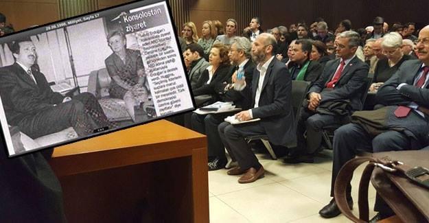 Konsoloslora kızan Erdoğan'ı da yargılanırken ABD konsolosu ziyaret etmiş