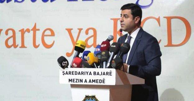 Demirtaş'tan Kılıçdaroğlu'na Cizre çağrısı