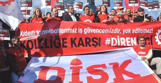 DİSK'ten  Erdoğan'a yanıt: Saygı duymayı öğreteceğiz