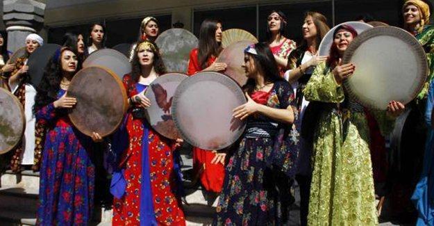 Diyarbakır 8 Mart kutlaması