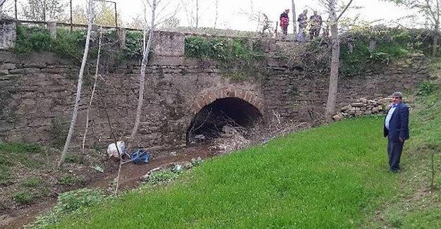 Edirne'de yıkılmak istenen köprü Bizans dönemine ait çıktı