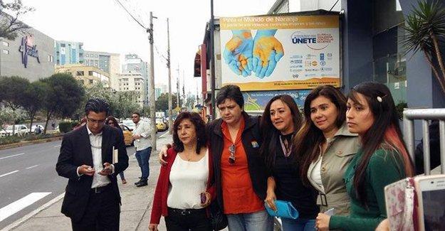 Ekvadorlu kadınlar Erdoğan'ı BM'ye şikayet etti
