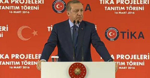 Erdoğan: Hedeflerimizden uzaklaşmayacağız