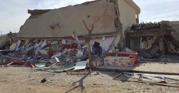 Güvenlik güçleri İdil'de HDP binasını yıktı