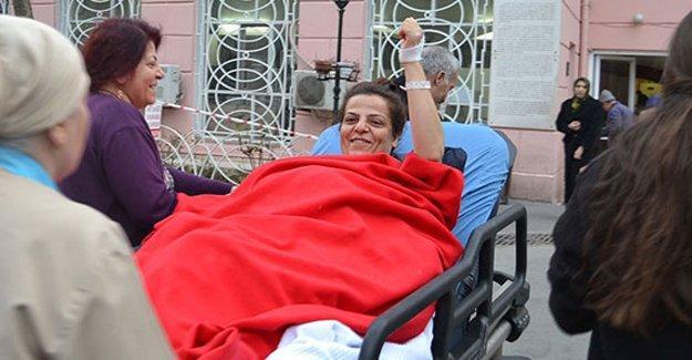 Hakkari'de vurulan siyasetçi hastaneden cezaevine gönderildi