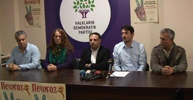 HDP İstanbul Newroz'u için başvuruda bulundu