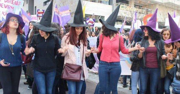 'Her yer kadın her yer direniş'