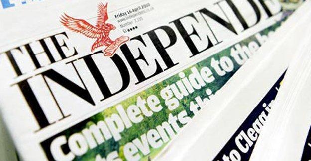 Independent, son kez baskıya gitti