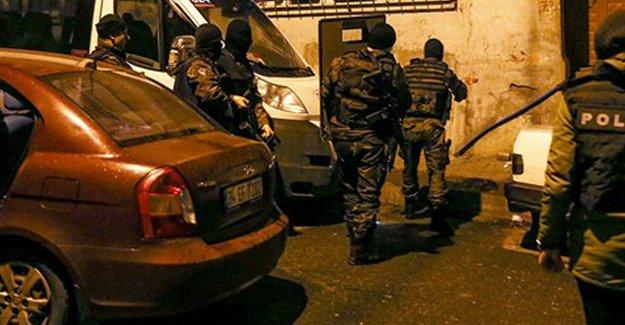 İstanbul'da üç ilçede polis operasyonu