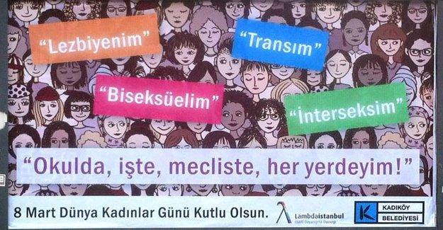 Kadıköy ve Şişli belediyeleri billboardlarını LGBTİ'lere açtı