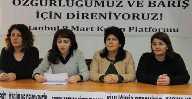 Kadınlar 6 Mart'ta Kadıköy'de olacak