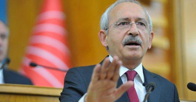 Kılıçdaroğlu: Hukukun olmadığı bir ülkedeyiz