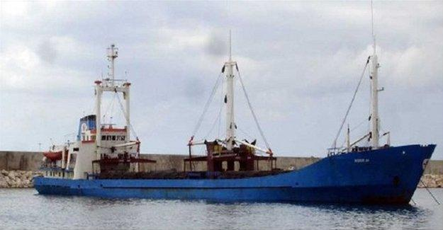 Lübnan'a giden Türk gemisinde 10 bin patlayıcı bulundu