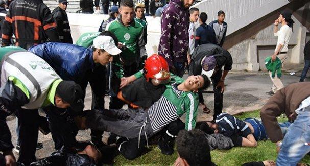 Maçta olay çıktı: 2 ölü, 54 yaralı