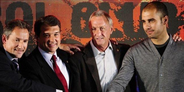 Pep Guardiola: Futbolu Cruyff'tan öğrendim