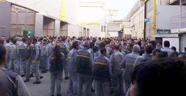 Renault'ta işçiler üretimi durdurdu