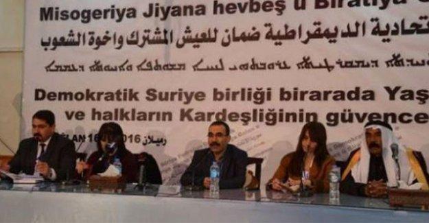 Rojava ve Kuzey Suriye Meclisi, federasyon ilanında anlaşmaya vardı