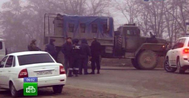 Rusya'da cami yakınında patlama