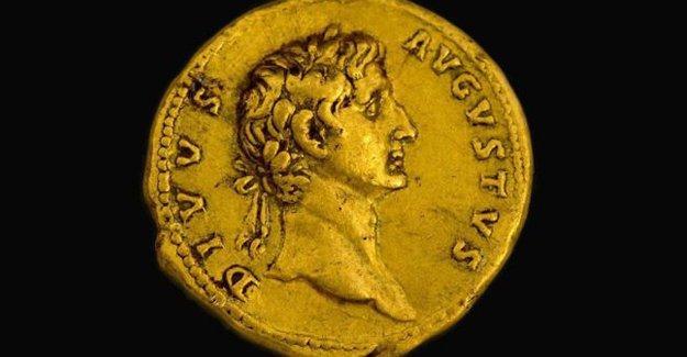 Sadece tek örneği olan Roma Sikkesi bulundu