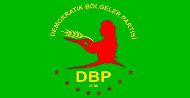 DBP'den Eş Genel Başkan Yüksek'in tutuklanmasına ilişkin açıklama