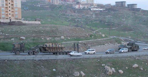 Şırnak'ta abluka hazırlığı sürüyor