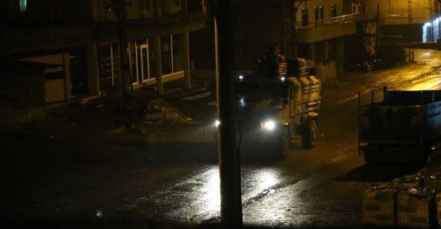 Şırnak'ta operasyon mehter marşıyla başladı