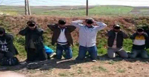 Suriye sınırında IŞİD'li canlı bomba yakalandı