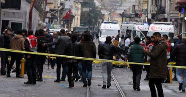 İstiklal'deki bombalı saldırıyla ilgili 1 kişi tutuklandı