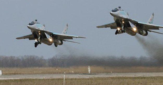 TSK IŞİD'e ait hedefleri vurduğunu iddia etti