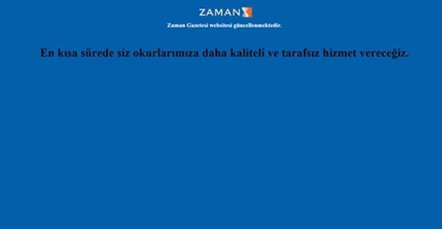 Zaman Gazetesi'nin internet sitesi kapatıldı