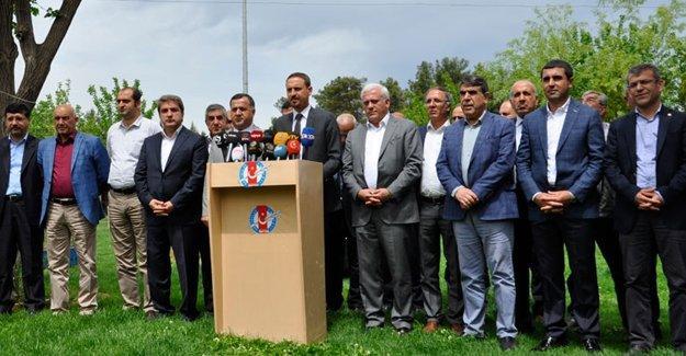11 STK'dan çağrı: HDP'li milletvekillerine dokunma