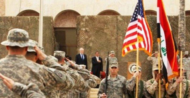 ABD'den Irak'a asker