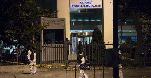 AK Parti İstanbul İl Merkezi'nde patlama