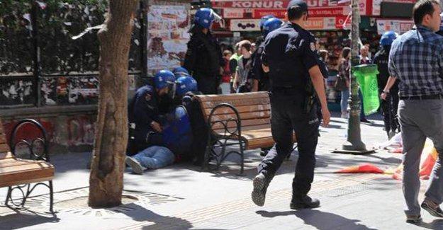 Ankara'da konser standına 'şehitler var' provokasyonu; 15 liseliye gözaltı