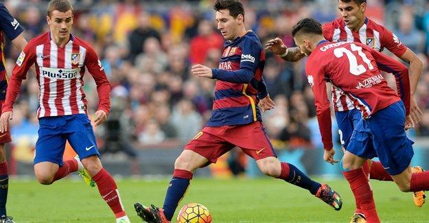 Barcelona-Atletico Madrid maçı şifresiz hangi kanalda?
