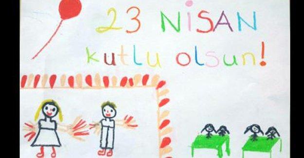 Çocukların gözünden 23 Nisan