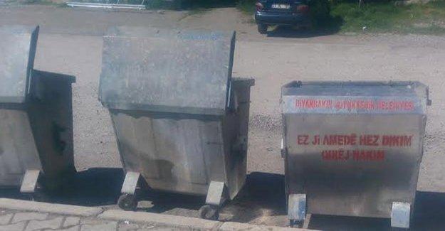 Çöp konteynerine garip suçlama!
