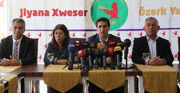 DBP: Türkiye'nin değişimi demokrasinin yerelleşme yönünde olmalıdır