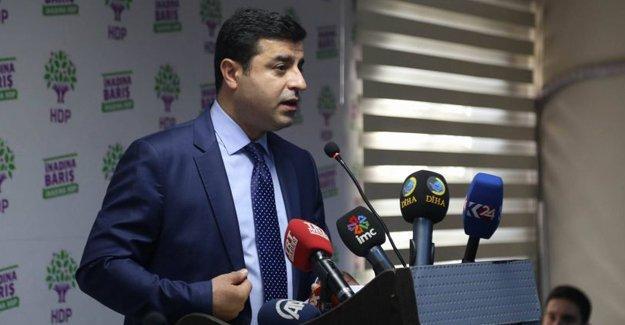 Demirtaş: CHP devletçi bir bakış açısıyla AKP'nin yanında yer almıştır