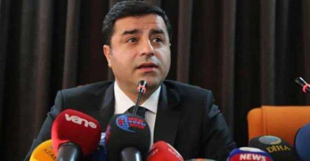Demirtaş CHP'nin 'dokunulmazlık' açıklamasını değerlendirdi